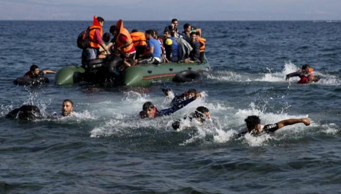 176 133559 migrant boat capsizes greek island
